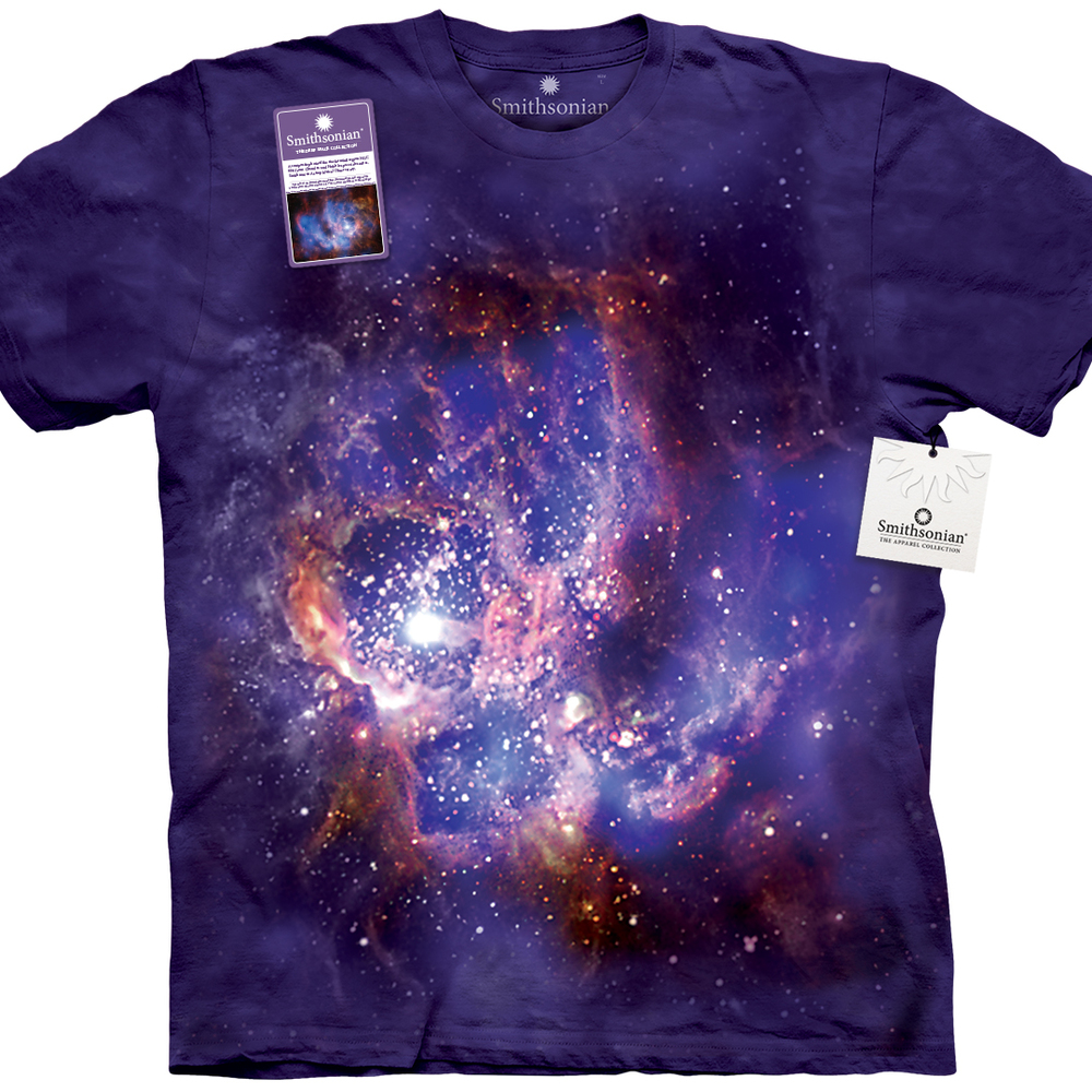 If you've caught Mom retweeting Neil deGrasse Tyson then you can be sure she'll enjoy this Star Forming Region Of Ngc 604 T-Shirt from The Smithsonian Collection. Check out the whole Smithsonian Collection here.