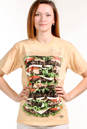 Does your Mom have an appetite or adventurous eating? Well then this Egg Burger T-Shirt by Michael McGloinis her monument to living life delicious!