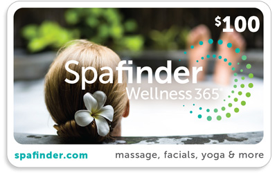 Nothing nourishes the body, mind, and soul like a relaxing spa day, especially after a particularly tough workout sesh! Try getting her a gift card to spa-finder.com so she can pick her favorite place to kick it.