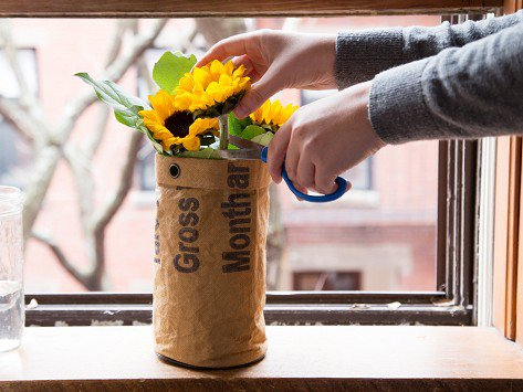 Like we said, just buying your Mother flowers is so been there done that, BUT with this Flower Organic Grow kit by Urban Agriculture, your Mom can harness her lovely green thumb and grow some herself, just like she grew you!