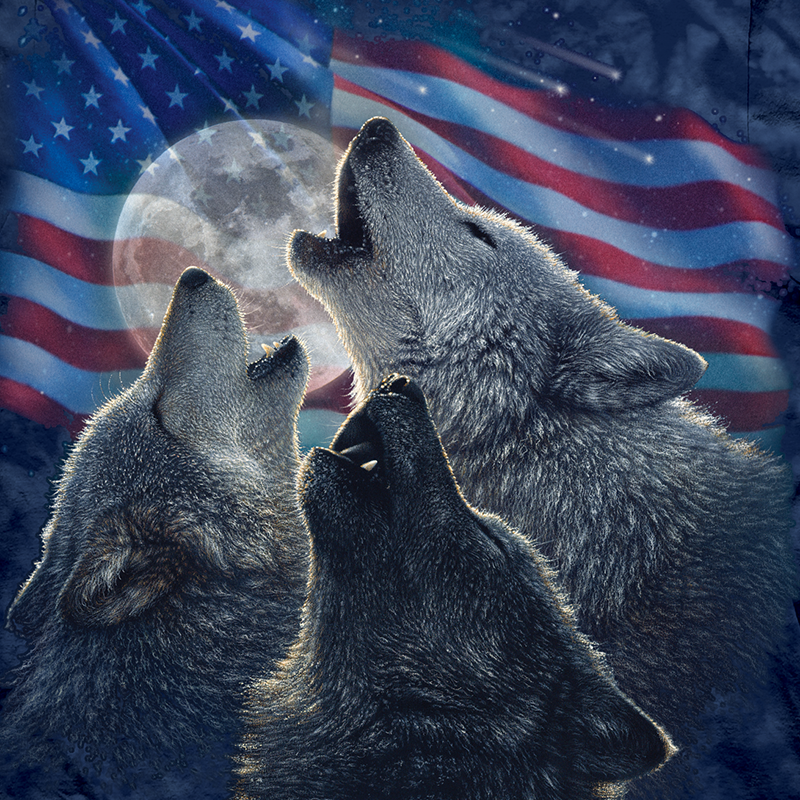 Wolf Trinity America by Collin Bogle
