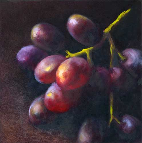 Wine Dark : oil : 8x8""
