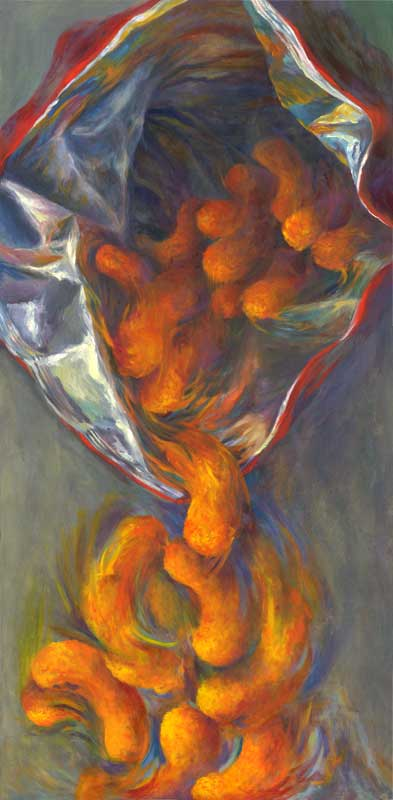 Cheez Doodles oil 48x24""