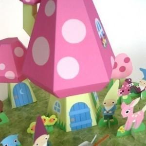 paper gnome village