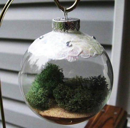 living ornament for a dying tree
