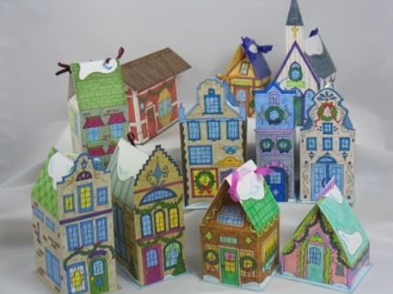 mini houses advnt calendar