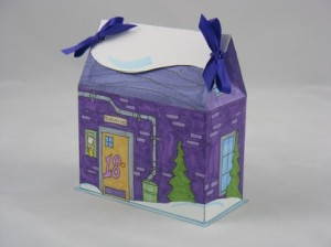 mini house box from the advent calendar