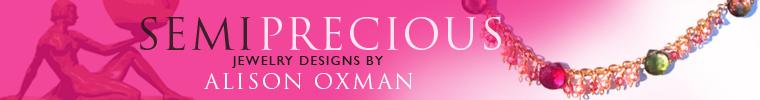 alison oxman, semi-precious jewelry