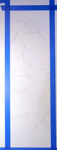 color pencil still life drawing