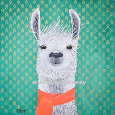 Lucy the Llama, Michelle Pentoney.jpg