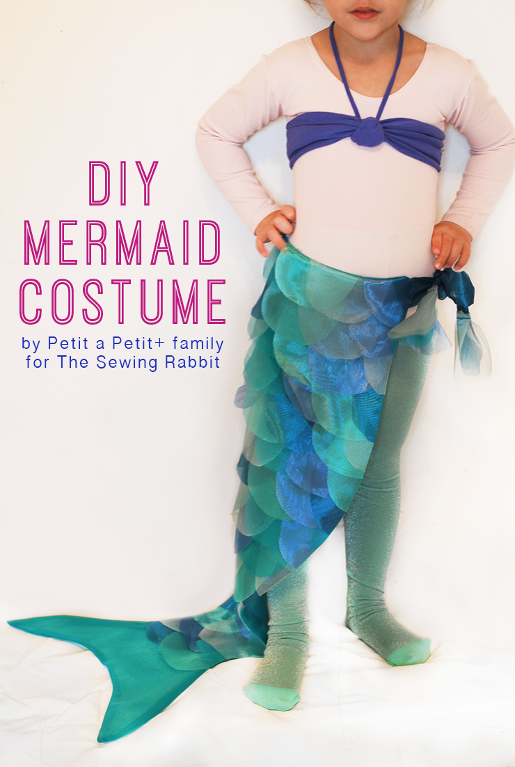 DIY Mermaid Costume by Petit a Petit + Family