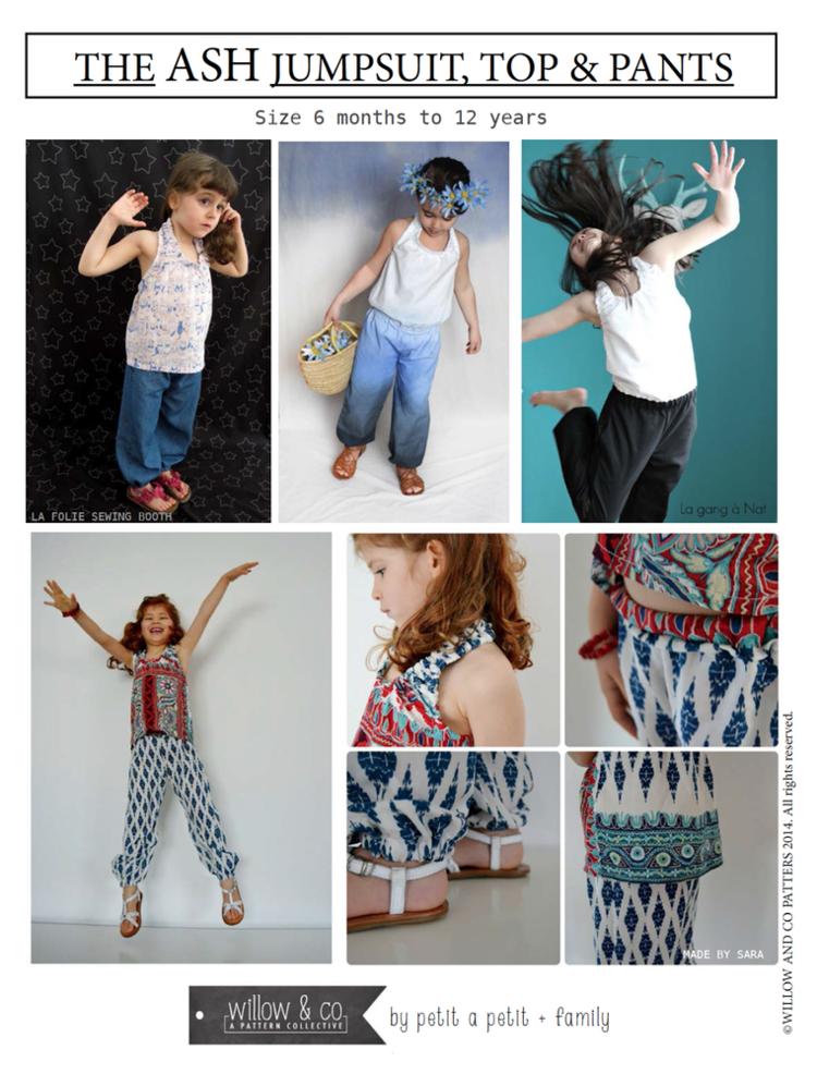 Ash Jumpsuit, Pants & Top — PETIT A PETIT +Family