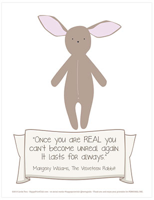 The Velveteen Rabbit FREE Literature