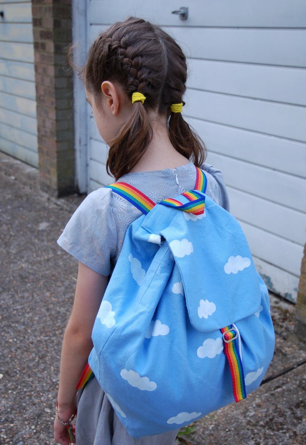 DIY cloud backpack