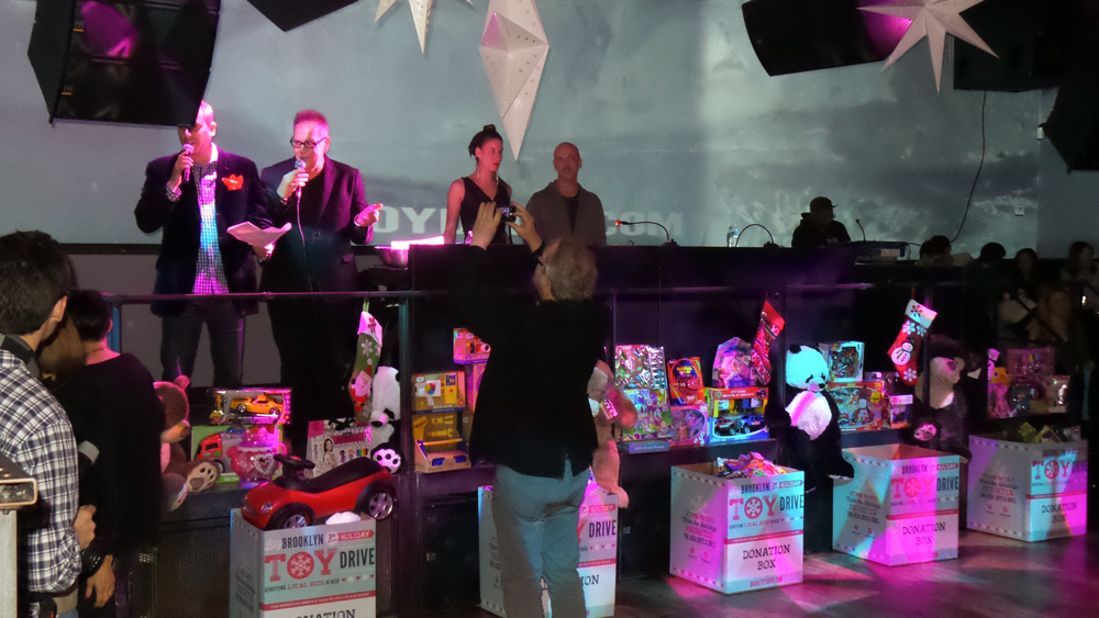 Broadway Stages donated toys to the Big Brooklyn Holiday Toy Drive