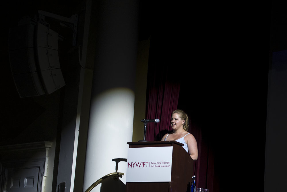 Amy Schumer at NYWIFT Designing Woman Ceremony