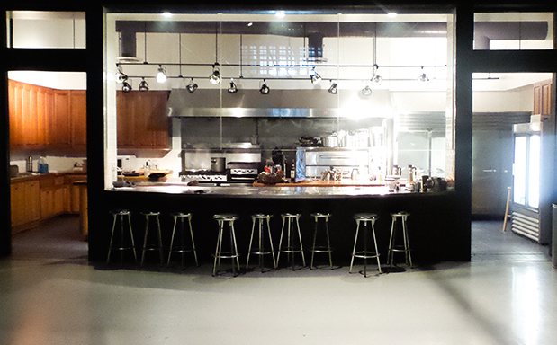 "Our new commercial kitchen, where Food Network's ""Chopped"" was filmed for 11 seasons"