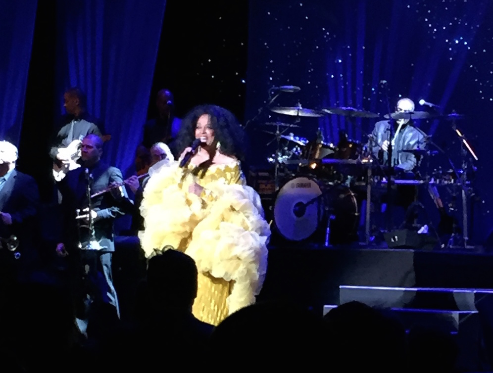 The legendary Diana Ross