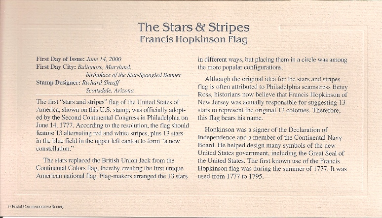 Stars and Stripes Insert