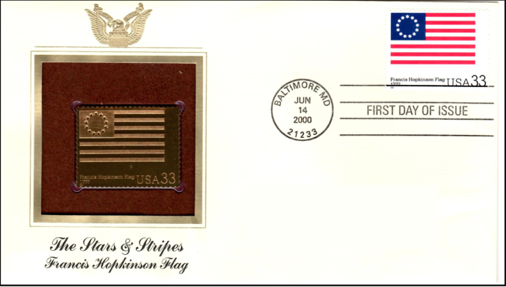 Stars and Stripes Envelope