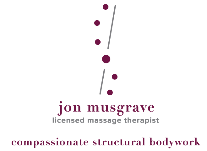 Jon Musgrave, Licensed Massage Therapist