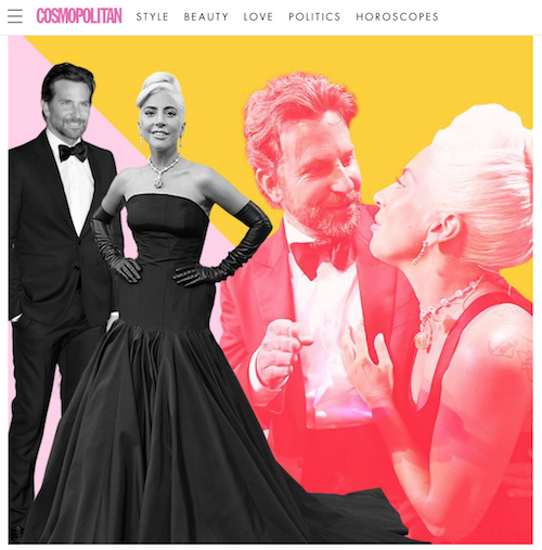 Cosmopolitan - Why Do We Want Lady Gaga and Bradley Cooper to Be in Love So Badly? Reminder: he's in a relationship already.