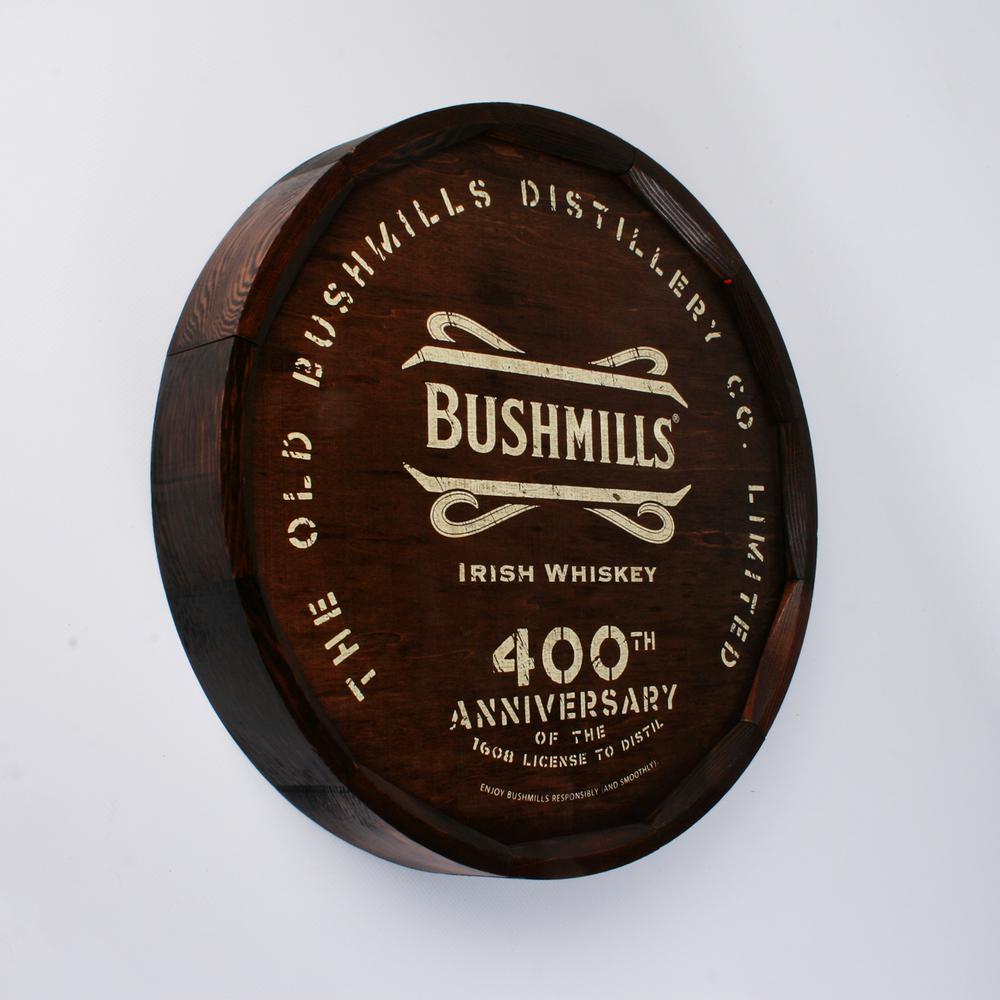 Bushmills Barrel End Sign