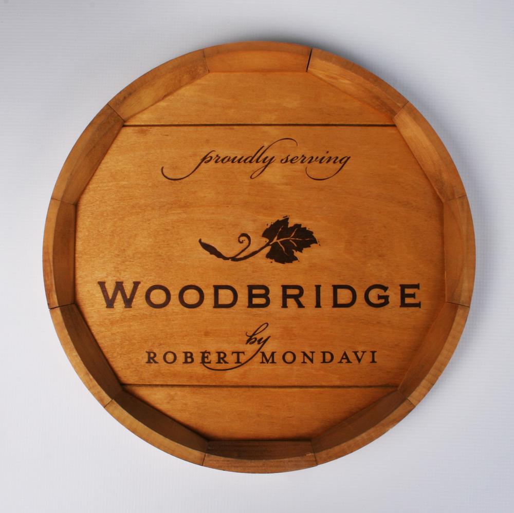Woodbridge Barrel End Sign