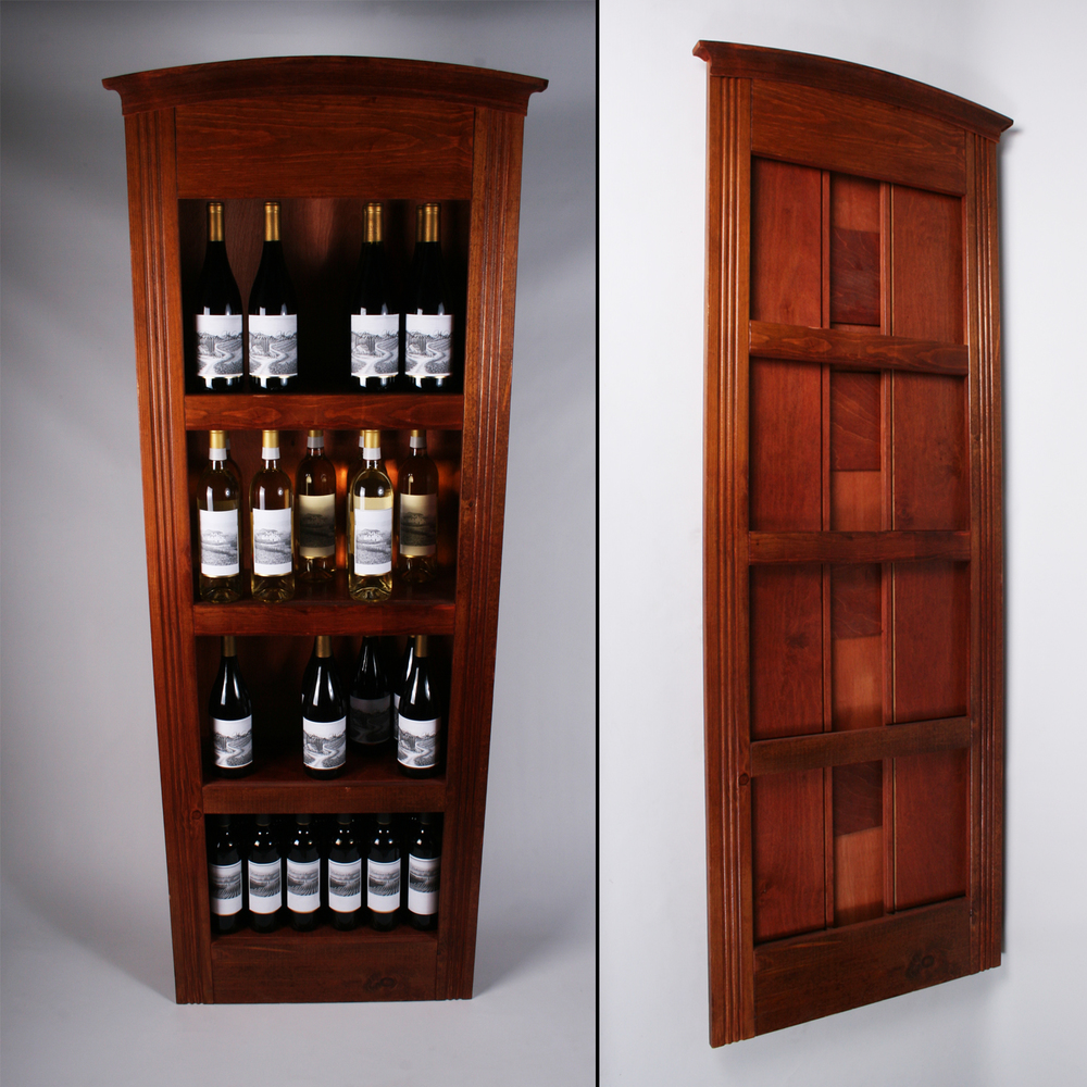 Flat Folding Wine Display
