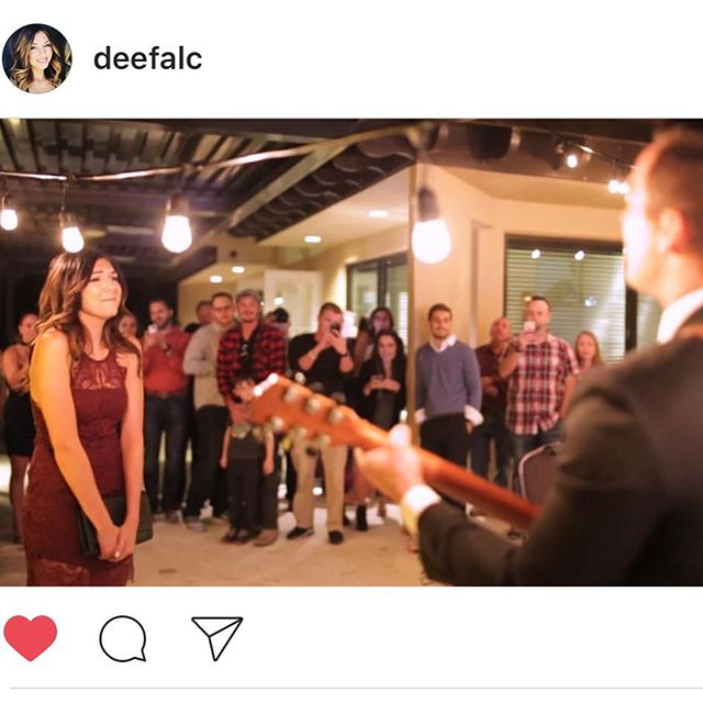 Amazing video and HUGE congratulations to my big bro, @mattgandundertow and my new baby sis @deefalc on their engagement. Please peep their amazinggggg engagement video surprise for D at  https://m.youtube.com/watch?v=dp8jk62BAr8&feature=youtu.be.  So happy for you both! Much, much love from the West Coast !!! 💋🎉💕💍🎤🎸