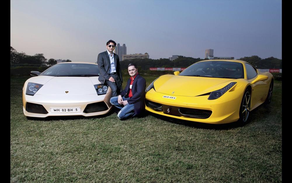 Gautam Singhania & Adar Poonawala - Hi-Living Magazine