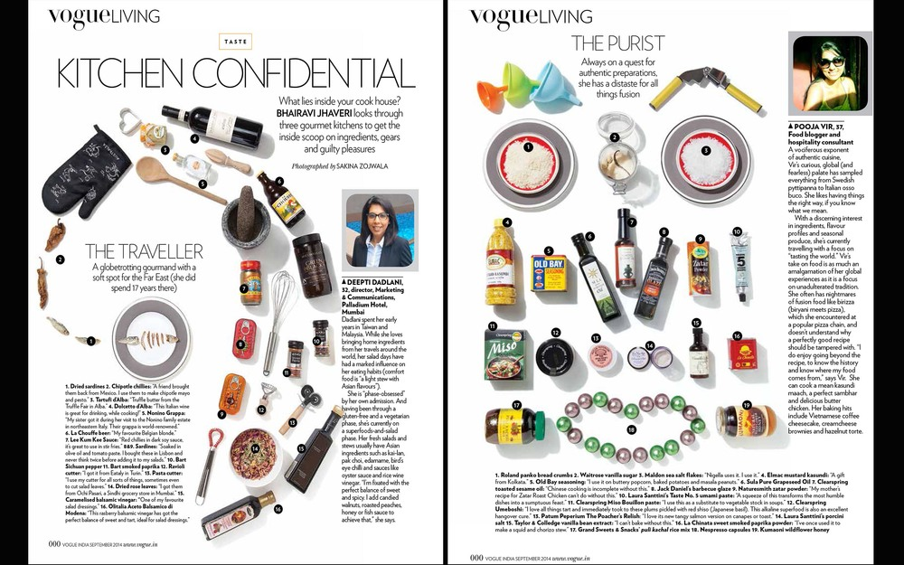 Vogue Living-Kitchen Confidential Editorial