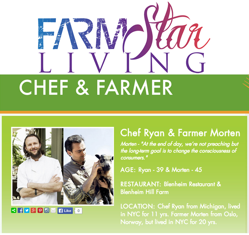Chef Ryan and Owner/Farmer Morten discuss their learning experiences, challenges and plans for the future of Blenheim's farm-to-table dining experience.