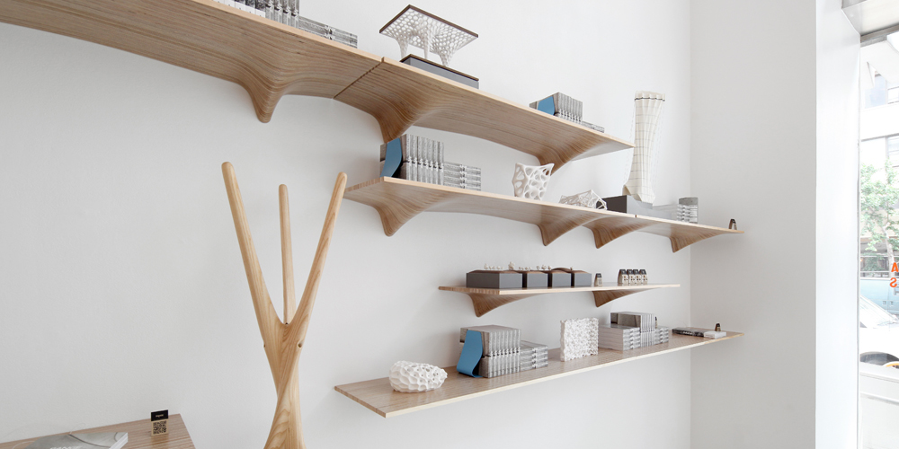 Ply Shelf Matter Design