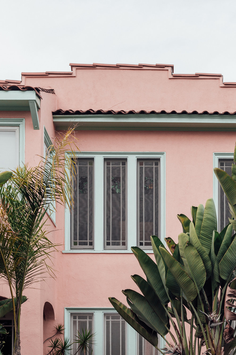 Pink House / Tropical / Modern Architecture / House & Home / Kelly Fiance Creative