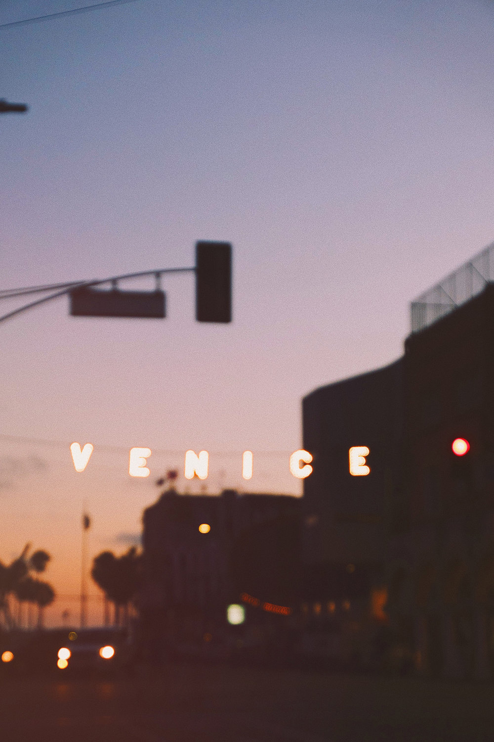 Venice Beach / Travel Photography / Sunset / Neon Sign / Kelly Fiance Creative
