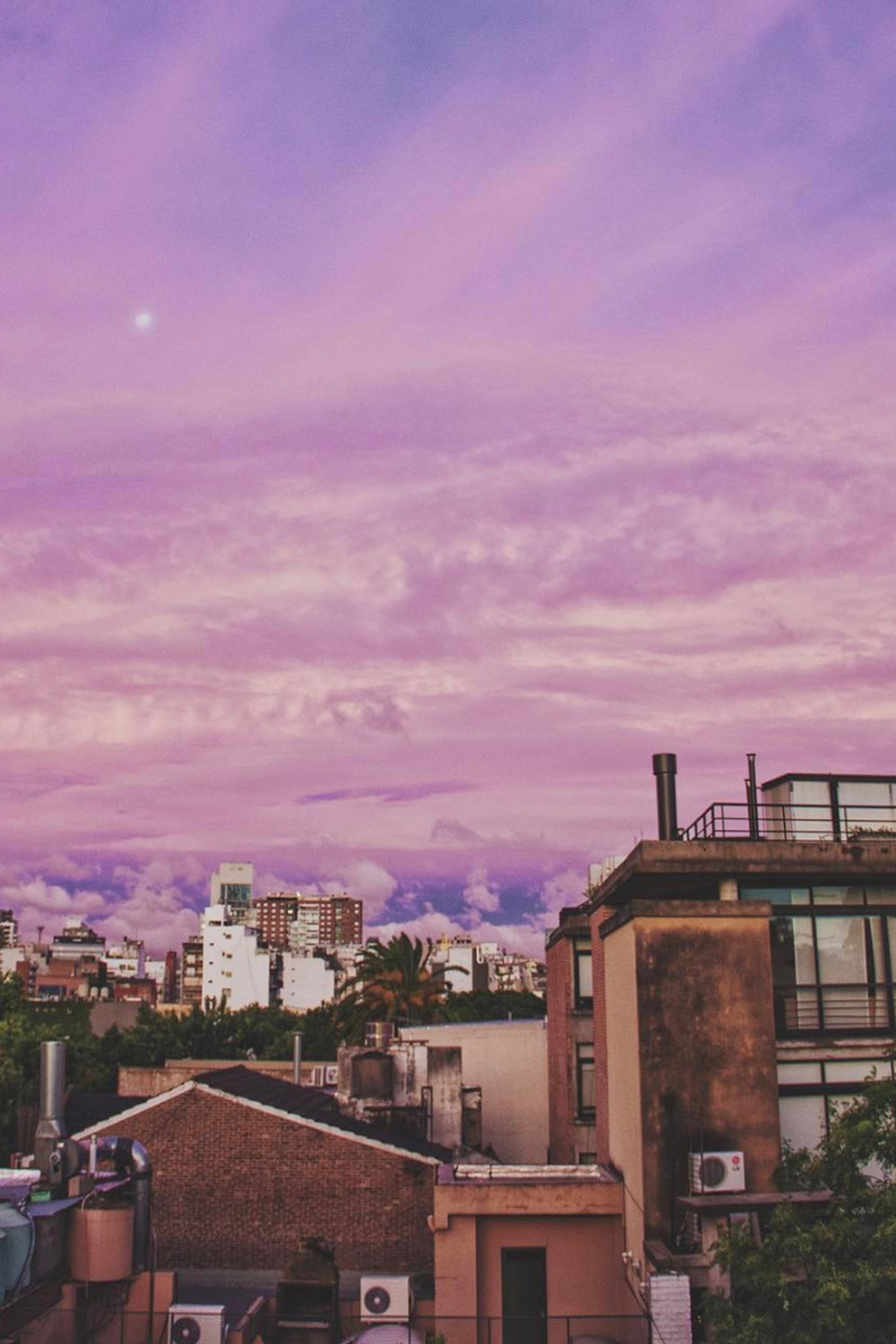 Purple Sunset / Travel Photography / Wanderlust / Buenos Aires Argentina / Color Inspo / Kelly Fiance Creative