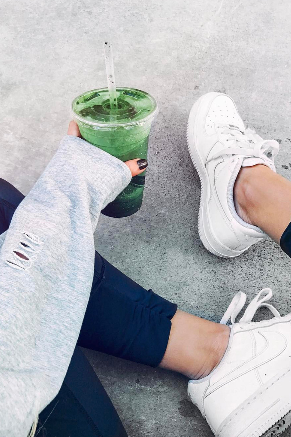 Green Smoothie / Health and Fitness / Instagram Photo Ideas / Kelly Fiance Creative