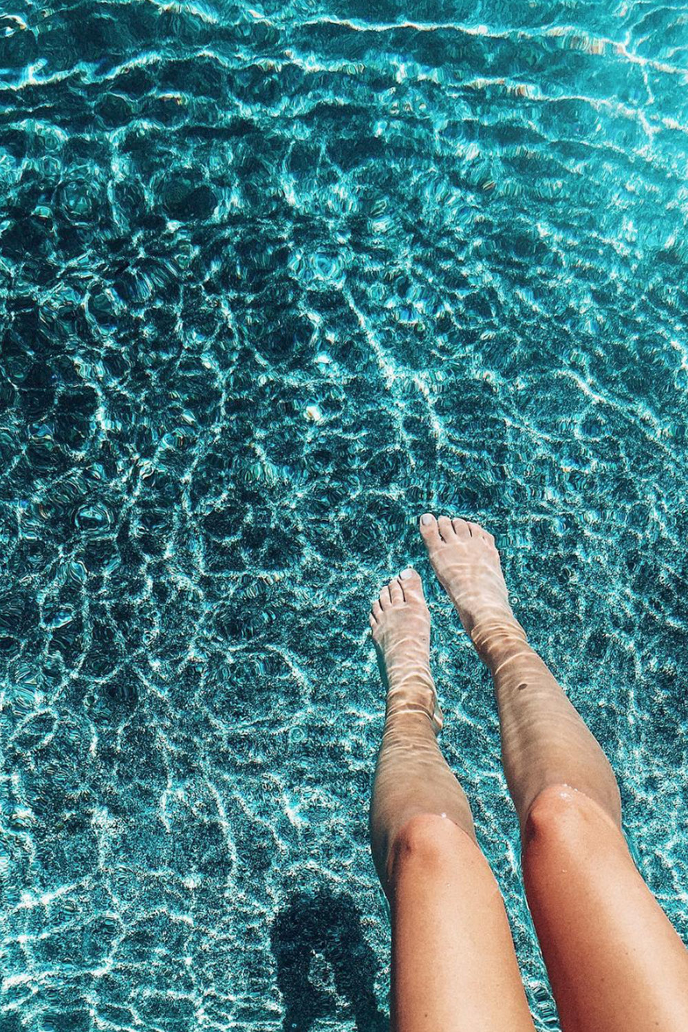 Summer Poolside / Tropical Water / Photography Texture / Instagram Photo Ideas / Kelly Fiance Creative