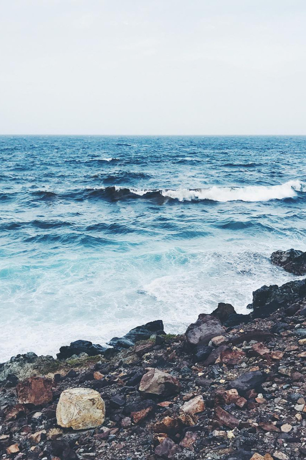 Ocean Waves / Summer Sea / Tropical Nature Photography / Wanderlust Travel / Kelly Fiance Creative