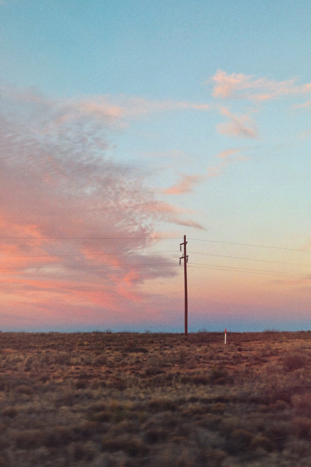 Road Trip Sunset New Mexico - Kelly Wirht Photographer
