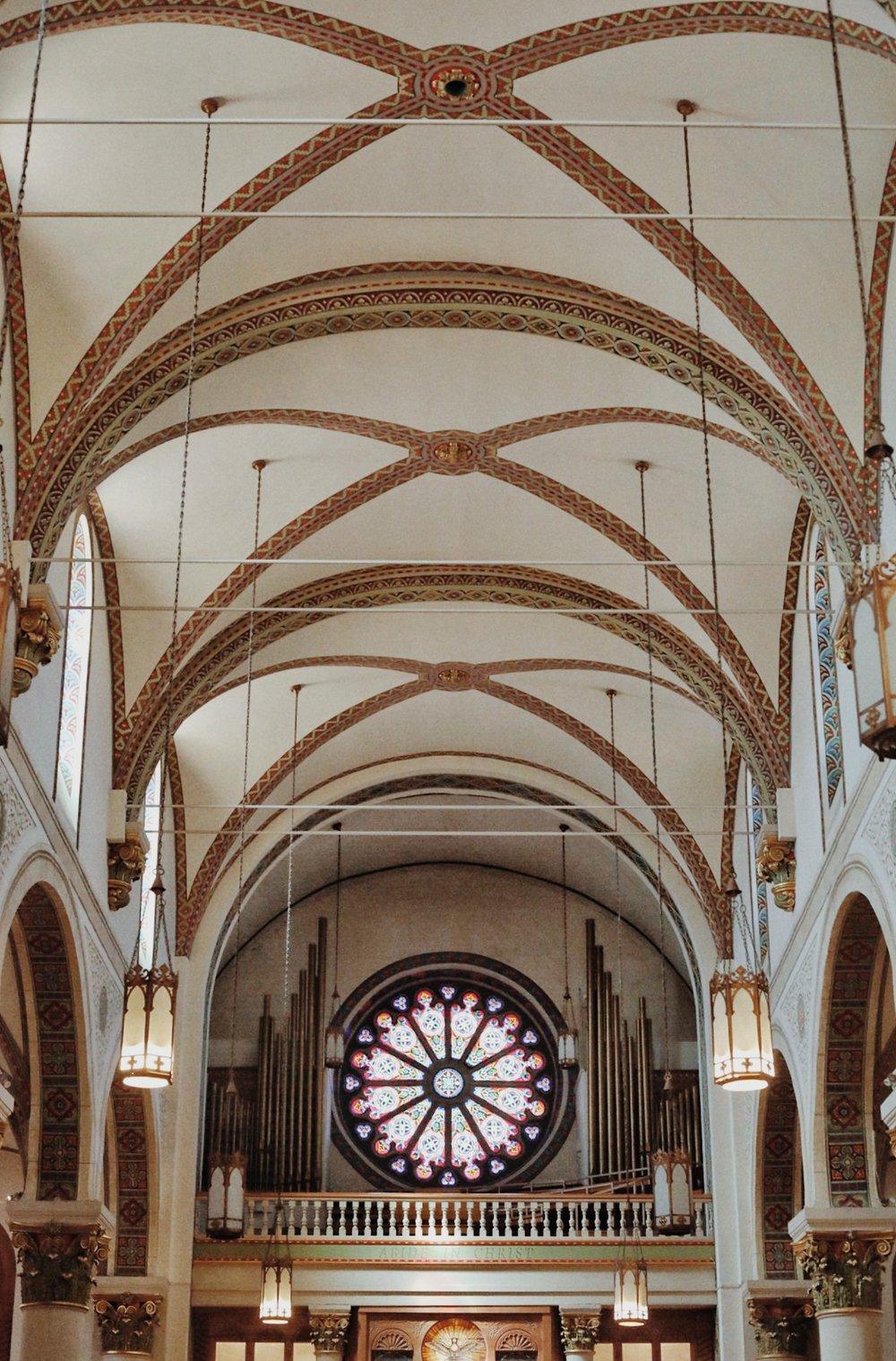 Santa Fe New Mexico Church - Kelly Wirht Photographer