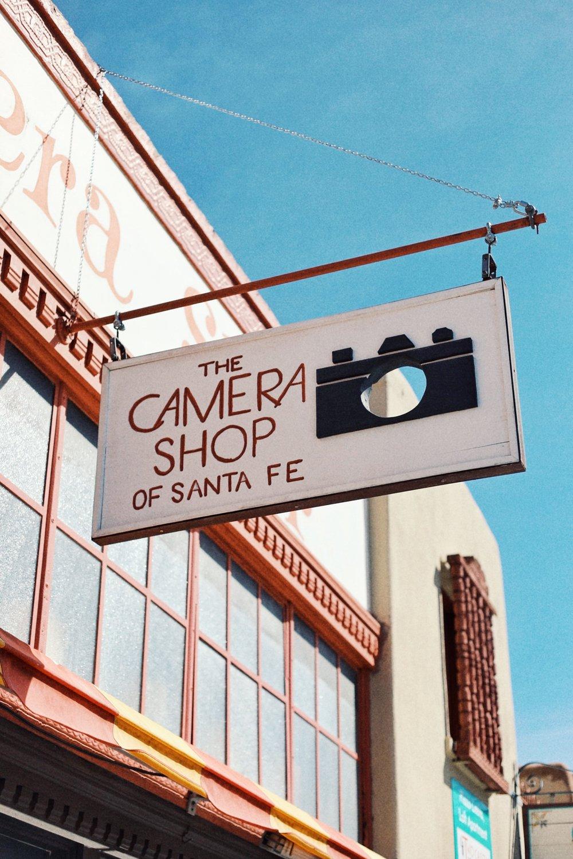Santa Fe New Mexico Camera Shop - Kelly Wirht Photographer