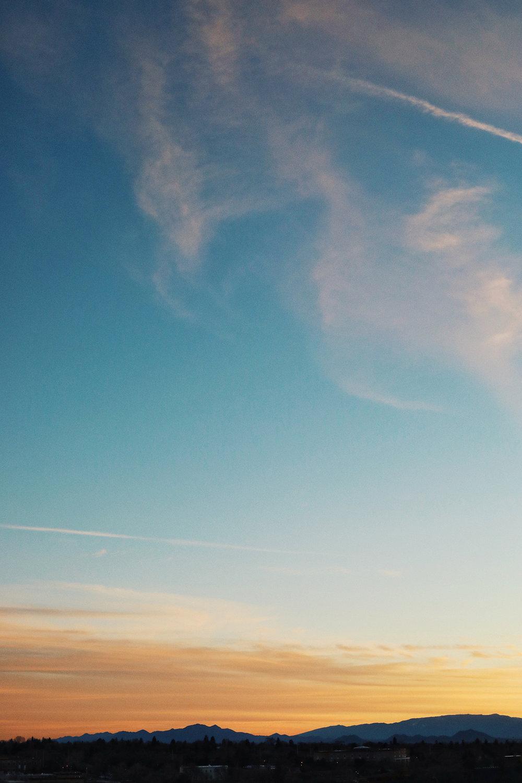 Santa Fe New Mexico Sunset - Kelly Wirht Photographer
