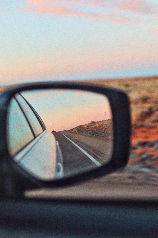 Road Trip Sunset Arizona - Kelly Wirht Photographer