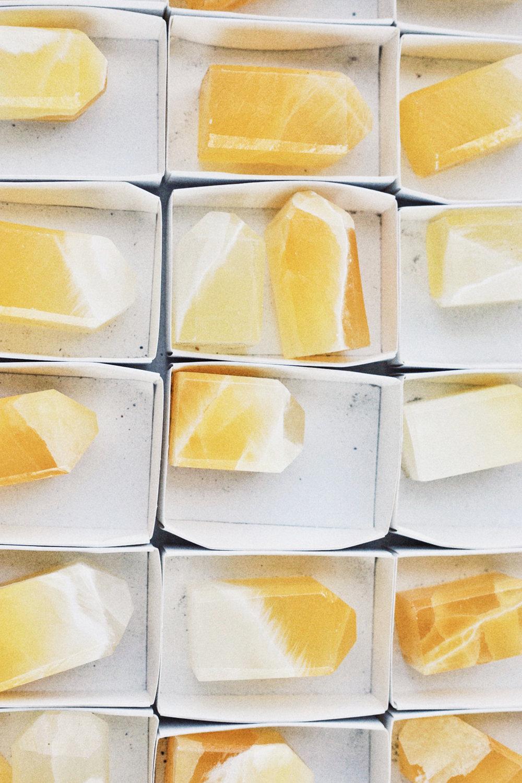 Santa Fe New Mexico Yellow Crystals - Kelly Wirht Photographer