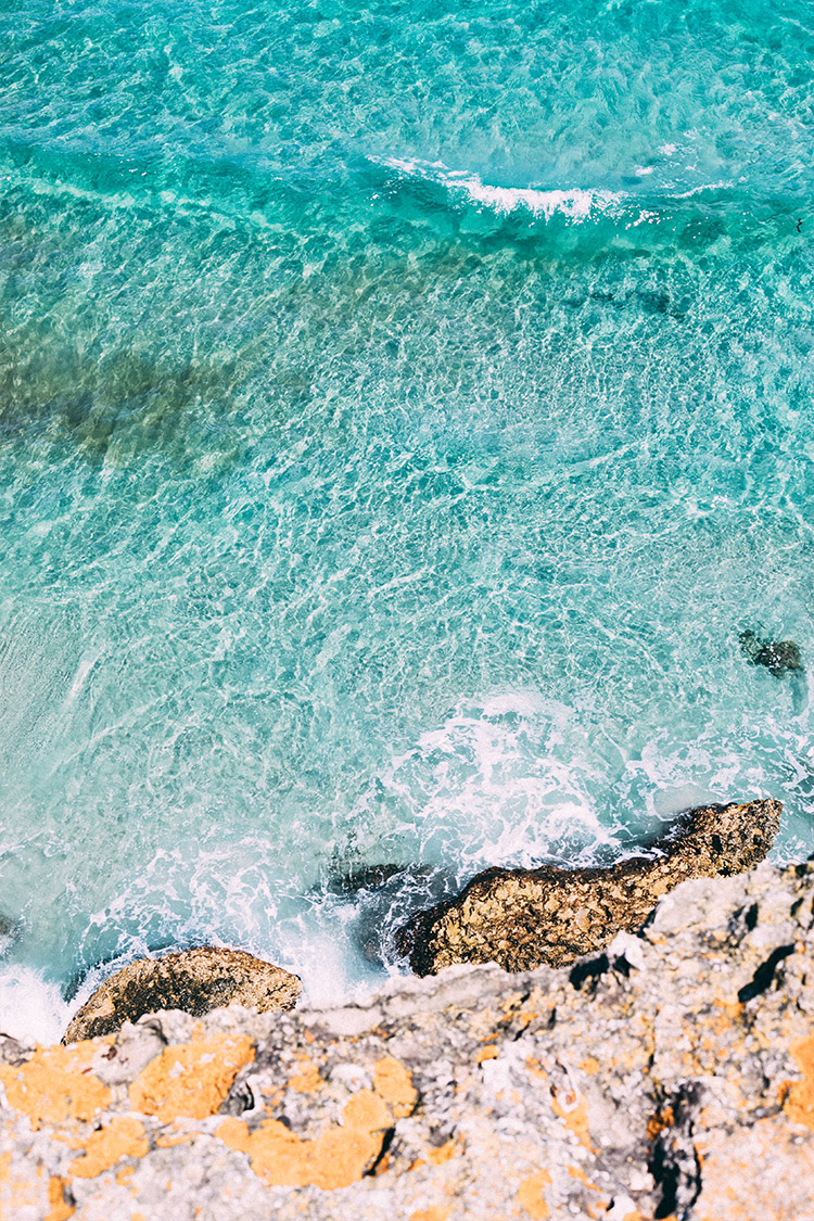 Ocean Waves / Puglia Italy / Travel Photography Wanderlust / Kelly Fiance Creative