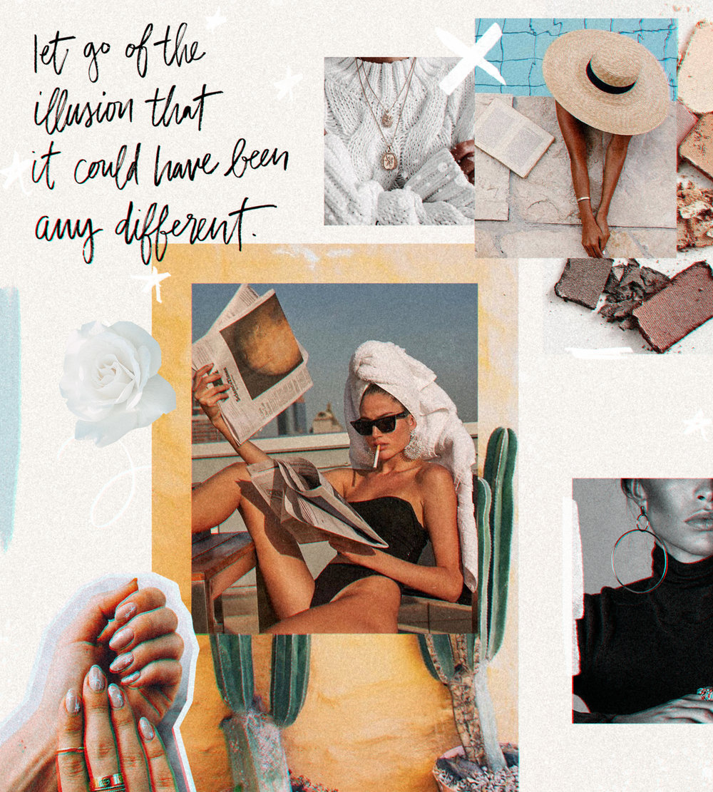 moodboard collage graphic design inspiration