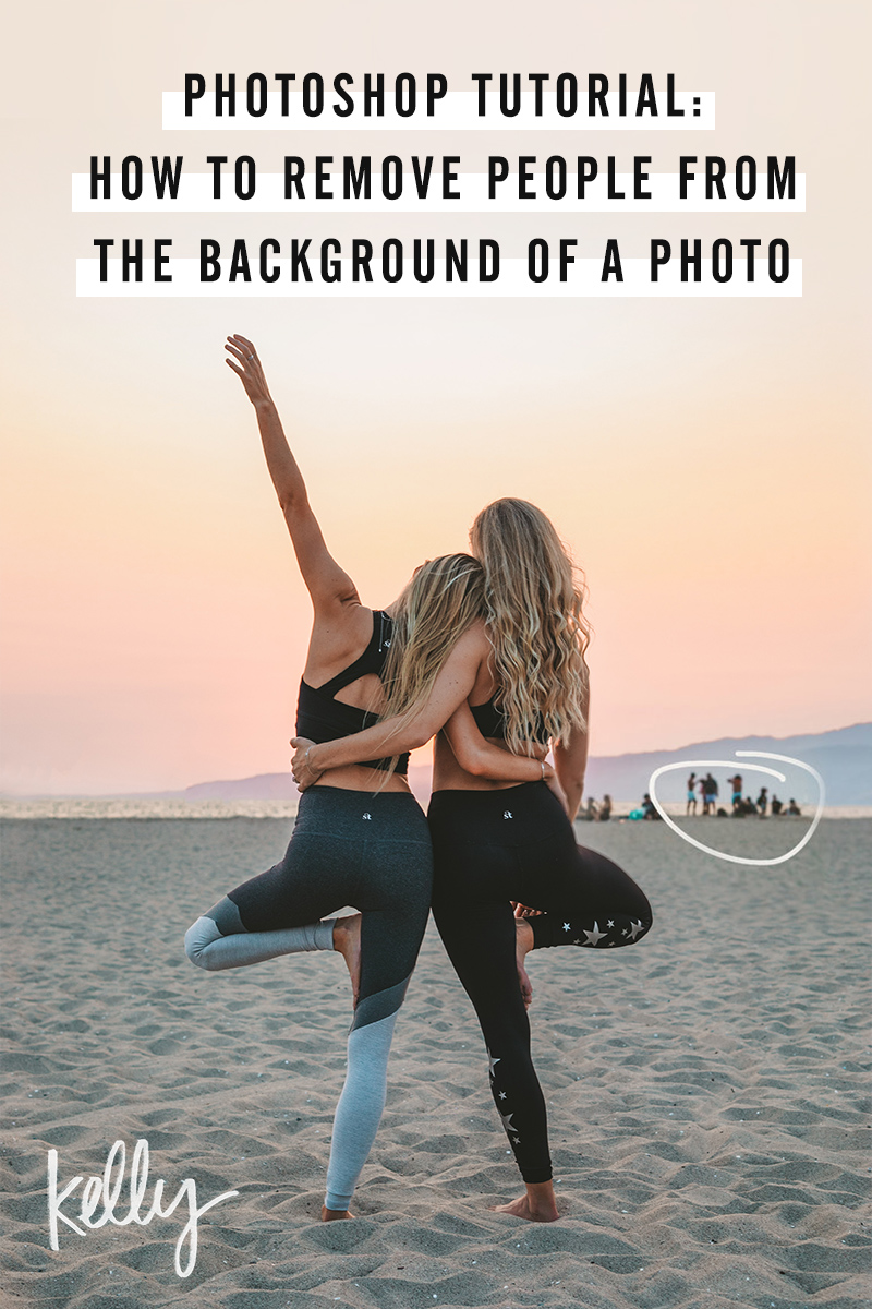 Photoshop Tutorial: How to Remove People from the Background of a Photo