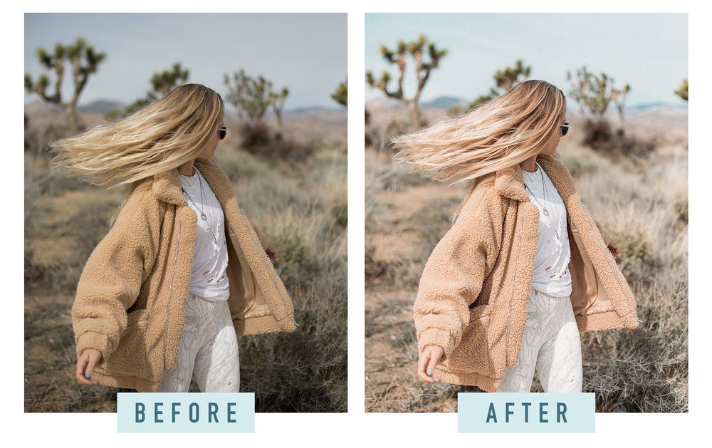 Photo Editing Before and After / Photography Filters / How to Edit